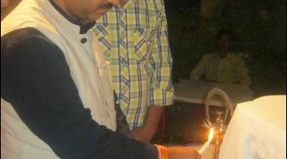 """भारतीय नववर्ष के उपलक्ष्य में कवि सम्मलेन -""""अभ्युदय काव्याम""""-2015"""